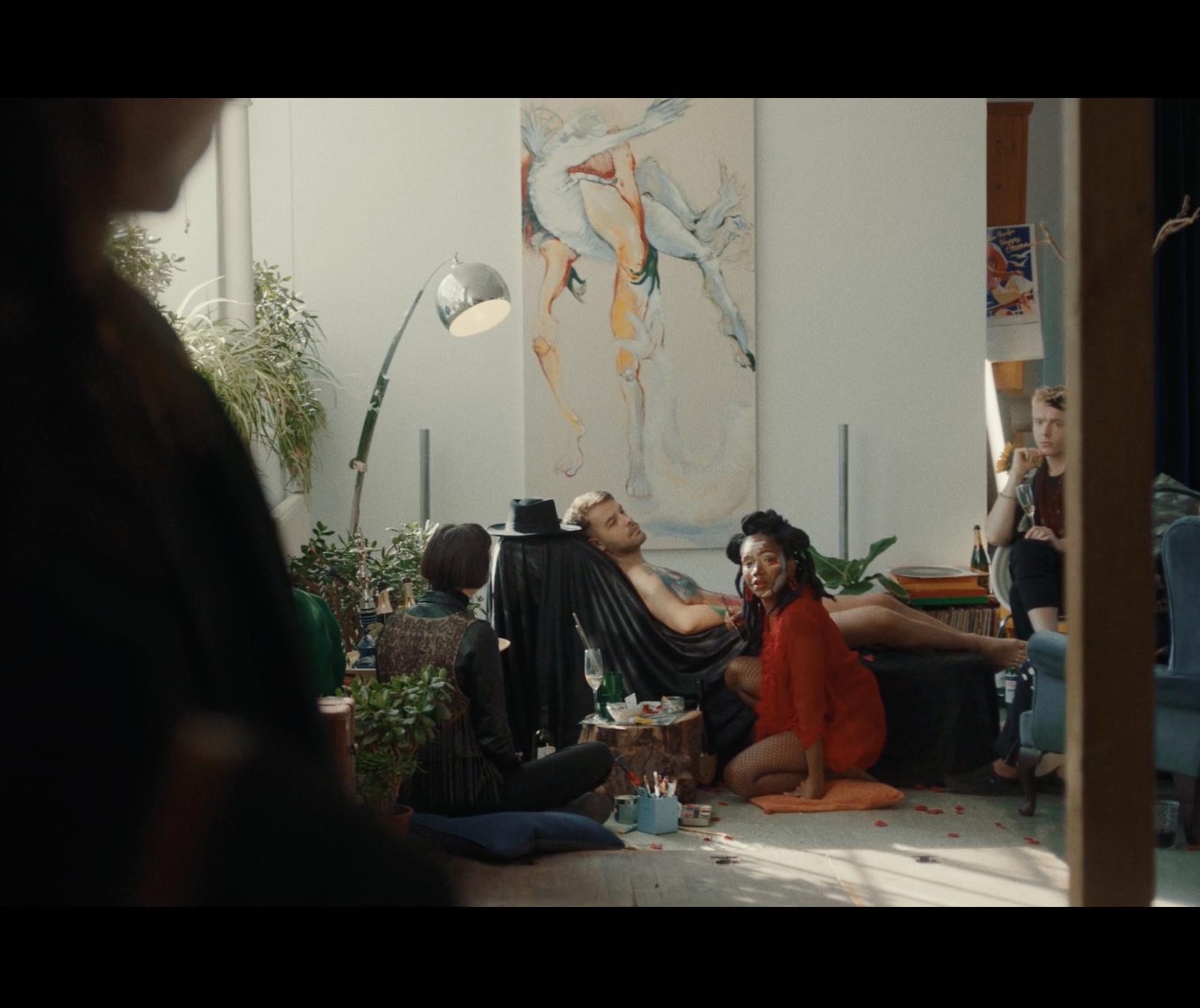 'Slap' on the set of 'Pineapple'