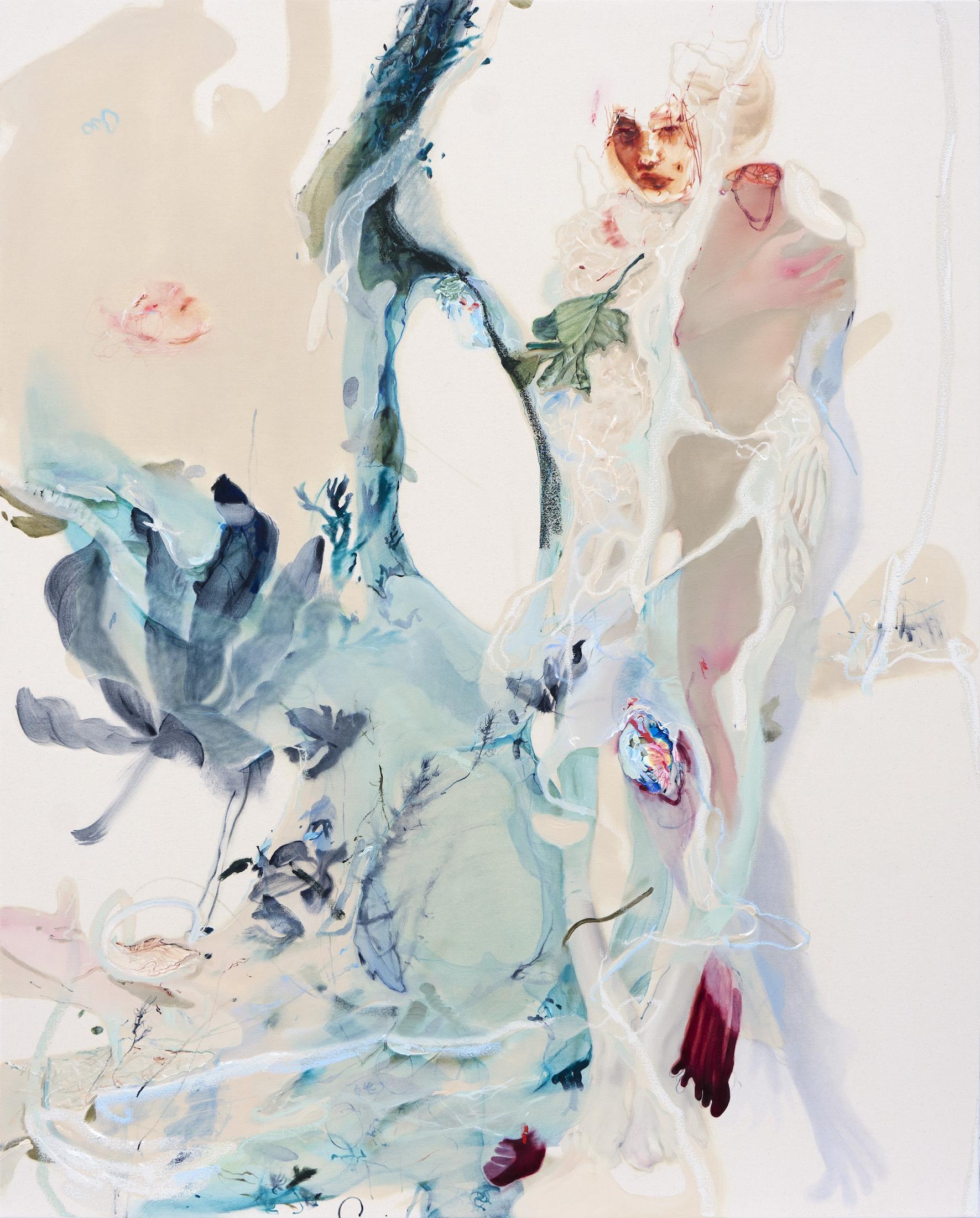 Delta_150 x 120cm_oil on canvas_2021
